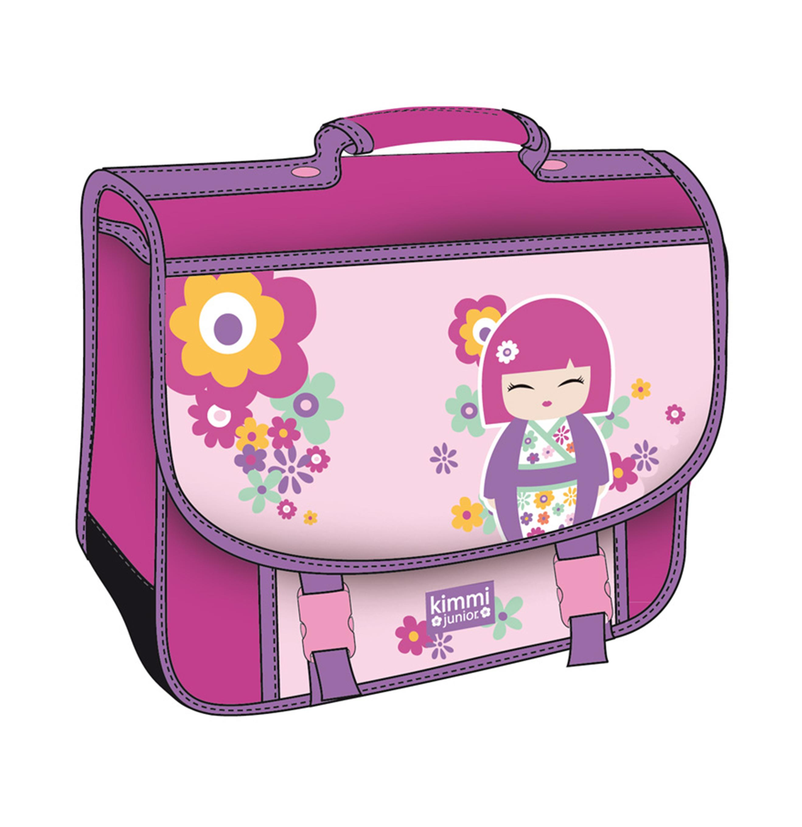 kokeshi rentr e scolaire cartable 41 cm kimmi junior. Black Bedroom Furniture Sets. Home Design Ideas
