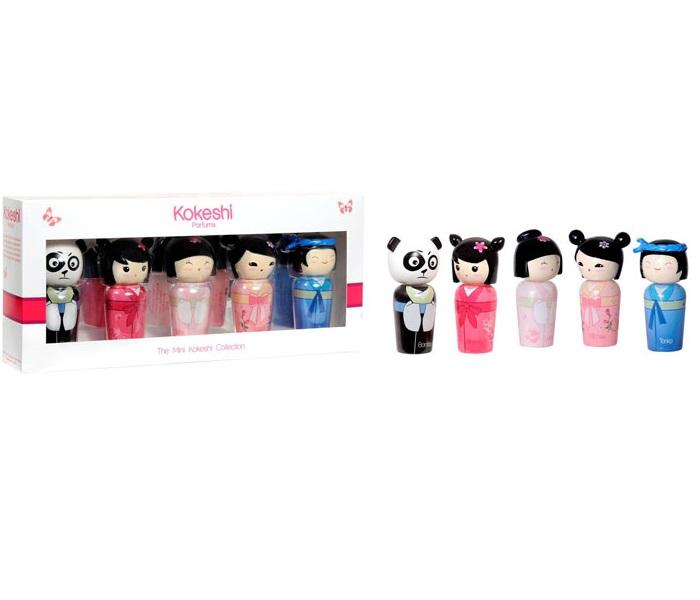 kokeshi kokeshi parfums coffret 5 miniatures the mini. Black Bedroom Furniture Sets. Home Design Ideas