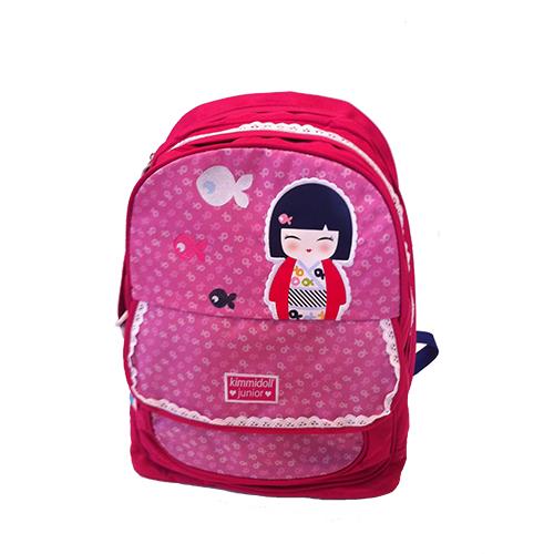 kokeshi rentr e scolaire sac dos 2 compartiments kimmi junior. Black Bedroom Furniture Sets. Home Design Ideas
