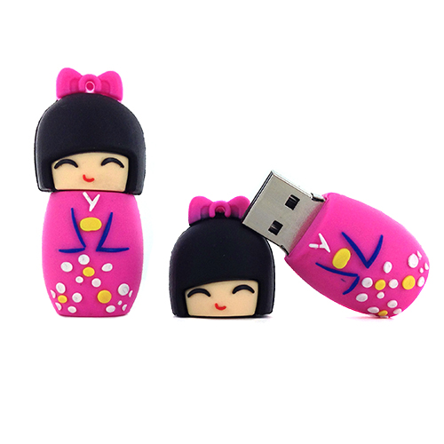 kokeshi kokeshi usb cl usb 16go kokeshi rose. Black Bedroom Furniture Sets. Home Design Ideas