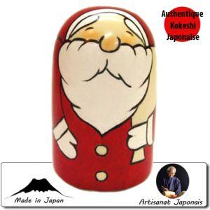 Kokeshi Noel  Santa Music Box (13cm)