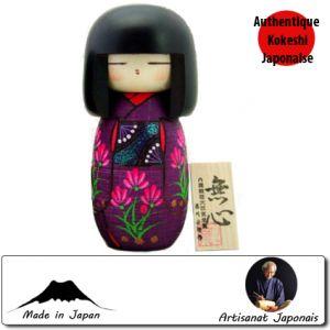 Kokeshi Jeunes filles (+ de 14 cm)  Mushin (19cm)