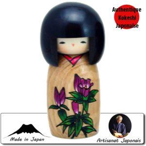 Kokeshi Jeunes filles  Rindo - Story Of Flower (14cm)