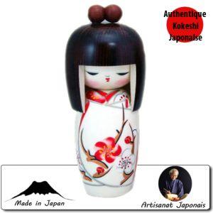 Kokeshi Jeunes filles  Harunoyume S (16cm)