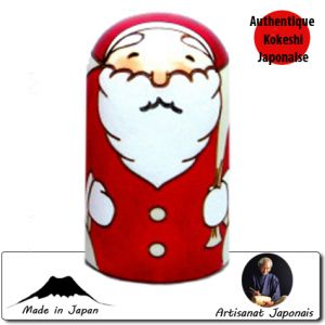 Kokeshi Noel  Santa Money Box / Tirelire (12cm)