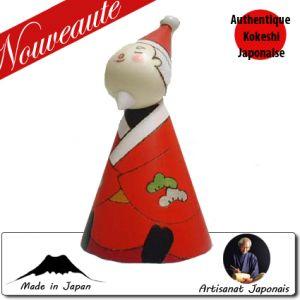 Kokeshi Noel  Santa Claus (12cm)