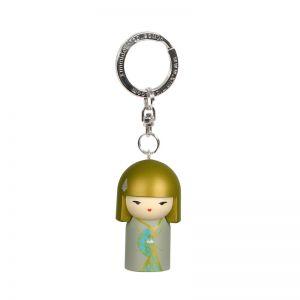 Kimmidoll Bijoux   Yasuko - Porte-clés Kimmidoll - Bien-être  (5cm)