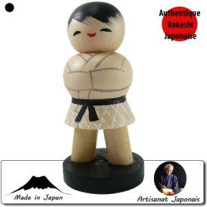 Kokeshi Guerriers  Judo (13cm)