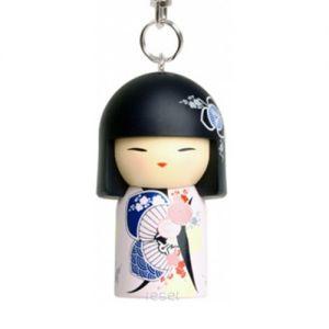 Kimmidoll Bijoux   Tsukiko - Porte-clés Kimmidoll - Assurance  (5cm)