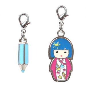 Kimmi Junior Bijoux  Zoé - Set De 2 Charms Kimmi Junior
