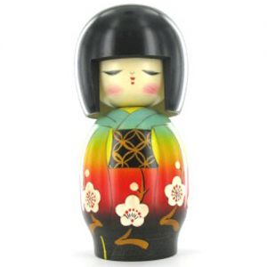 Kokeshi Jeunes filles  Hidamari (17cm)