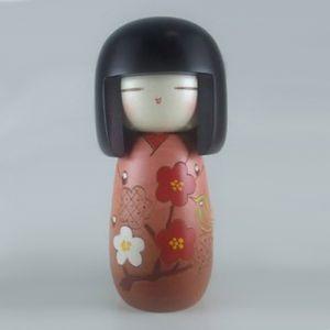 Kokeshi Jeunes filles (+ de 14 cm)  Kozue Cha (16cm)