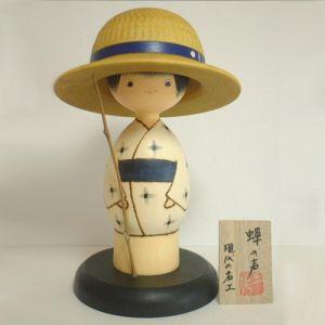 Kokeshi Jeunes filles  Semi Boy (20cm)