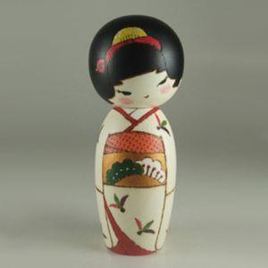 Kokeshi Jeunes filles  Shinsyun (14cm)