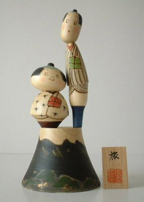 Kokeshi Jeunes filles  Tabi (27cm)