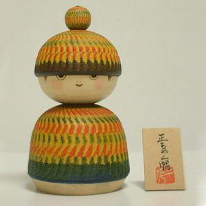 Kokeshi Jeunes filles (+ de 14 cm)  Shochan (18cm)