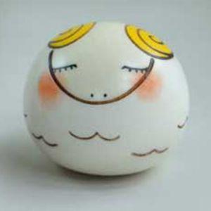 Kokeshi Animaux  Yurakoro (S) Hitsuji - Agneau (5cm)