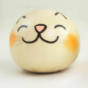Kokeshi Animaux Yurakoro (S) Neko - Chat (5cm)