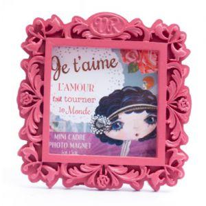 Cadre Verity Rose  Mini Cadre Magnet - Je t'aime - Verity Rose