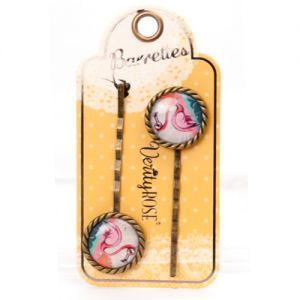 Accessoires Verity Rose  Barrettes - Flamant - Verity Rose