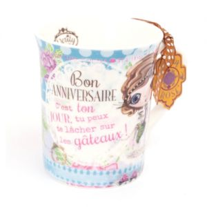 Tasse Verity Rose  Tasse - Bon Anniversaire - Verity Rose