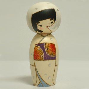 Kokeshi Jeunes filles  Snow (15cm)