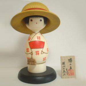 Kokeshi Jeunes filles  Semi Girl (20cm)