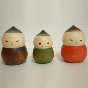Kokeshi Enfants  Acorn (7cm)