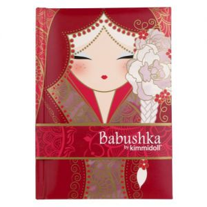 Babushka Accessoires  Carnet - Babushka Rouge