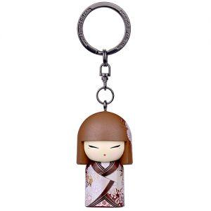 Kimmidoll Bijoux   Hideka - Porte-clés Kimmidoll (5cm)