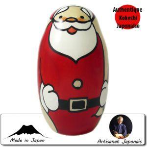Kokeshi Noel  Happy Santa L (13cm)
