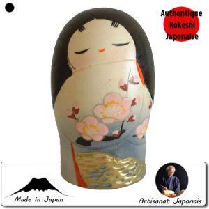 Kokeshi Jeunes filles  Ume Apricot L (19 Cm)
