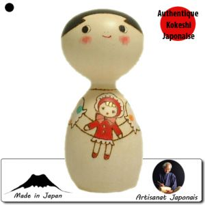 Kokeshi Enfants  Dolly / Poupée (11cm)